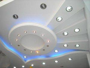 Фото потолочных светильников для подвесных потолков, info-potolki.ru