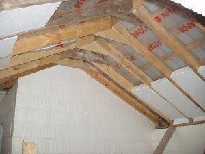 Как утеплить крышу мансарды изнутри?
