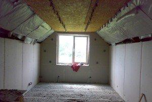 Как утеплить крышу мансарды изнутри? фото