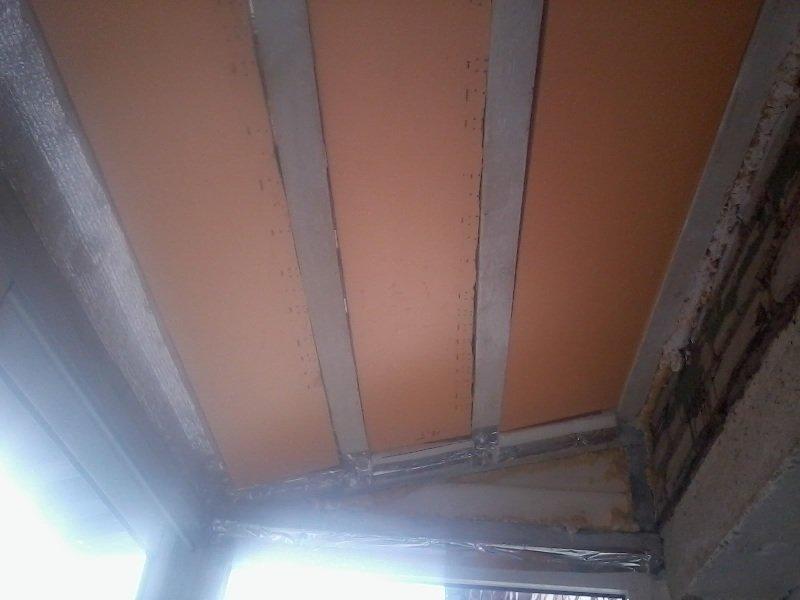 Утепление потолка пеноплексом в частном доме своими руками