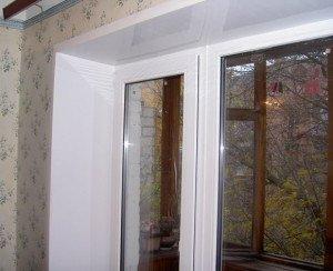 Фото пластиковых откосов окна, teplovik.prom.ua