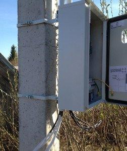 Фото подведения съемной электропроводки на даче, eshkaf.ru