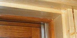 Фото - Деревянные откосы на окна – сочетание изысканности и практичности