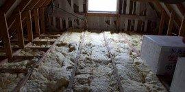 Утепление потолка бани – выбираем подходящий материал
