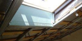 Потолок из гипсокартона – мансарда с простым дизайном