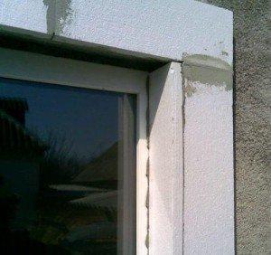 Фото наружной теплоизоляции оконных откосов пенопластом, pro-uteplenie.ru