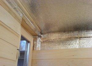 Фото теплоизоляции потолка бани, nn.ru