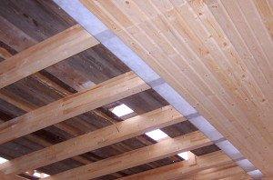 Фото конструкции верхнего перекрытия бани, repair-school.com