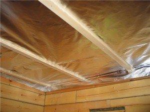 Фото утепления потолка в парилке, domogreev.ru