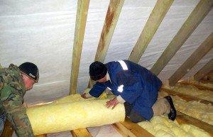 Утепление потолка в деревянном доме – подготовительные работы