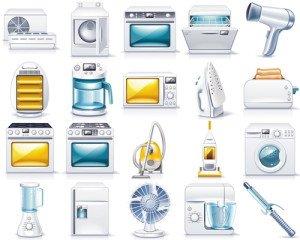На фото - электроприборы в доме, ihouse.lg.ua
