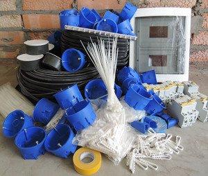Фото материалов для электропроводки, electriksan-rostov.ru