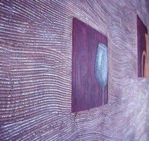 Фото декоративной отделки стен, uhouse.ru
