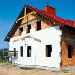 Фото пенопласта для наружного утепления дома, profibrus.ru