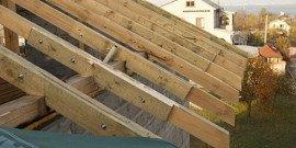 Крепление стропил – как сделать надежное основание крыши?