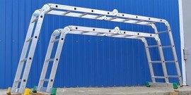 Стремянка-трансформер – лестница, принимающая разные формы