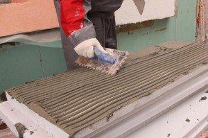 Фото штукатурной смеси для поклейки плит пенопласта, stofasadov.ru
