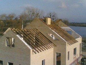 Фото стропильной системы двухскатной крыши, dommaksa.ru