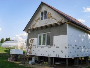 Фото утепления стен дома снаружи, krasamore.ru