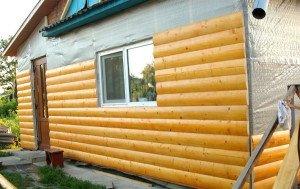 Фото деревянного блок-хауса, rmnt.ru