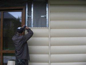 Фото обшивки дома пластиковым сайдингом, saw-wood.ru