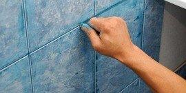 Как очистить плитку от затирки – способы, которые не навредят