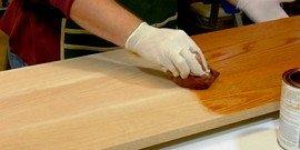 Олифа для дерева – натуральная защита древесины