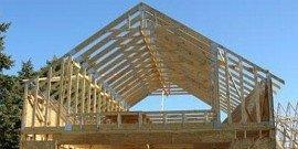 Стропильная система крыши – заглянем под кровельный материал