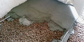 Утепление пола керамзитом – проверенная технология