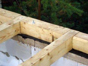 Фото обустройства мауэрлата четырехскатной крыши, build-experts.ru