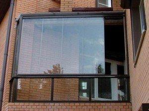 Фото панорамного остекления балкона, lateral.ru