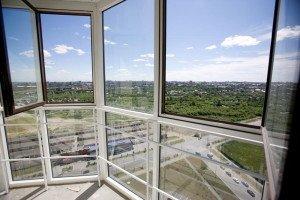 Фото панорамного остекления, okna-alma.ru