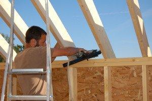 Фото стропил крыши каркасного дома, ch-constr.com