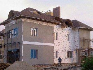 Фото укрепления пенопласта слоем штукатурки, aquagroup.ru
