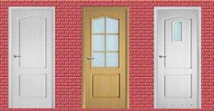 На фото - мазонитовые двери, ekonom-dveri.ru