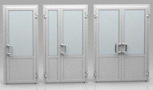 На фото - пластиковые двери, alwin-okna.ru