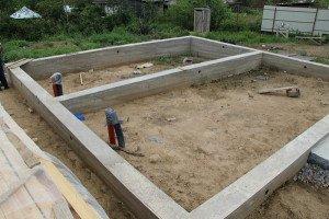 Как построить фундамент