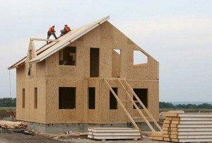 Как правильно построить каркасно-щитовой дом фото