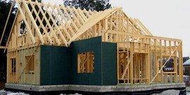 Пирог стены каркасного дома – собираем сами свое жилье