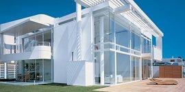 Фото - Витражное остекление фасадов – красота стеклянных форм