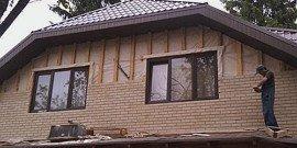 Отделка каркасного дома снаружи – выбор достойного материала