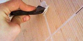 Видео затирки швов керамической плитки