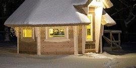 Зимние беседки – «морозная» резиденция шашлычника