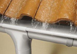 Виды водосточных систем для крыши