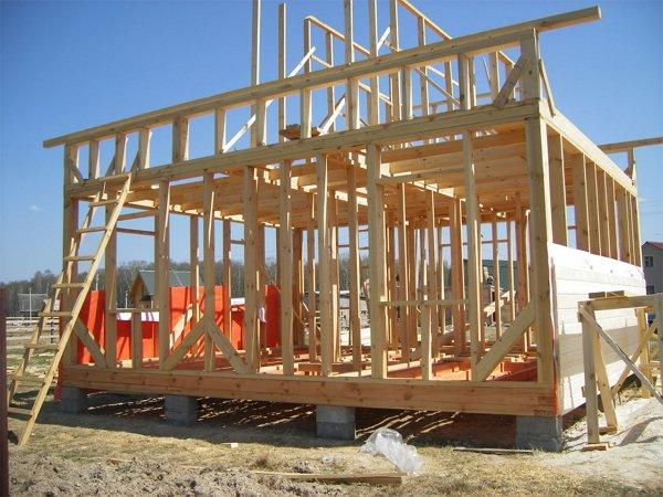Поэтапное строительство каркасных домов своими руками