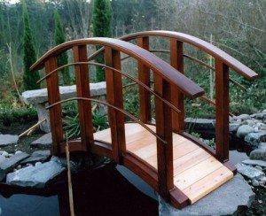 Фото декоративного моста для украшения ландшафта участка, domechti.ru