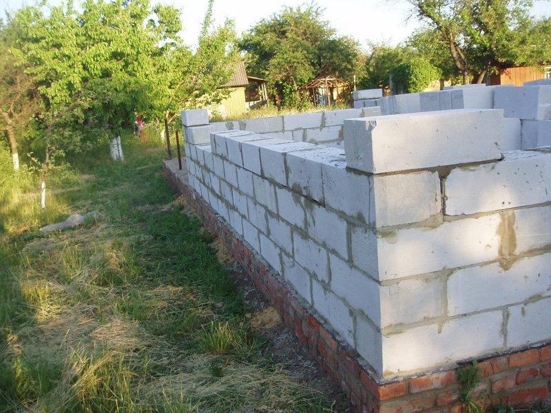 Строим дома из пеноблоков своими руками