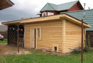 Фото сарая для кроликов с односкатной крышей, greensector.ru