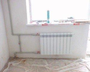 Расчет батареи отопления, исходя из объема комнаты