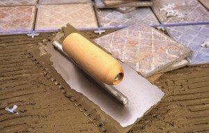 Фото клеящей смеси для плитки, domomod.ru
